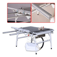 Home improvement woodworking dust free combination saw Multifunctional sliding table saw 90/45 degree miter saw Flip chip saw