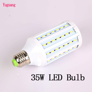 Image 1 - 写真照明 35 ワット LED 電球 220 12V 5500 5500k フォトスタジオランプ 1 個 E27 インタフェース用一眼レフアクセサリーソフトボックスビデオライト
