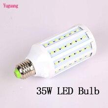 Fotoğraf aydınlatma 35W LED ampul 220V 5500K fotoğraf stüdyosu lamba 1 adet E27 arayüzü için DSLR aksesuarları softbox Video işığı