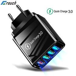 Carregador rápido 3.0 usb, carregador de parede 3.0 para samsung a50 a51 iphone 7 8 xiaomi mi9 tablet qc adaptador de tomada eua eu uk