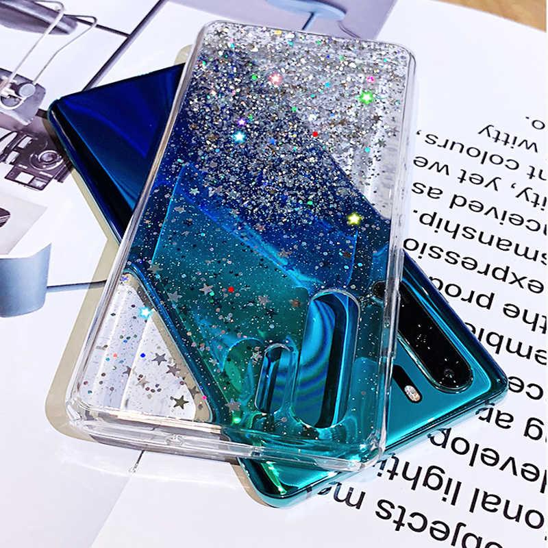 ALLCHW פאייטים גליטר טלפון מקרה עבור סמסונג A7 2018 A80 A90 J4Plus J6Plus A70 A30 A50 A20S A10S A40S Slim ברור TPU מקרי