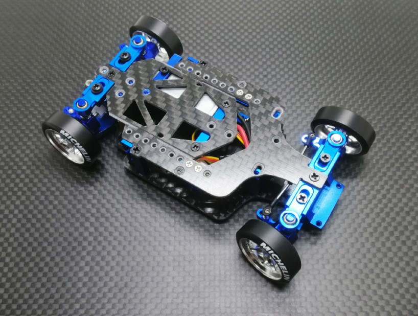 Hgd1 Mosquito Car Rear Drive Drift RC Drift Remote Control Model Car 1/28 Metal Upgrade Version RTR RC Car