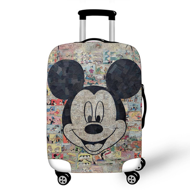 29 Styles Mickey Elastic Luggage Protective Cover Case For Suitcase Protective Cover Cases Covers Xl Travel Accessories Minnie L