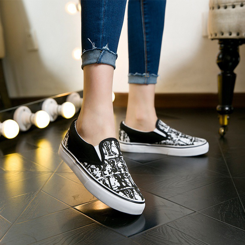 Dainzusyful Women Flat Shoes Loafers Fashion Casual Tassel Slip On Canvas Low Top Sneaker Classic Shoes Loafers
