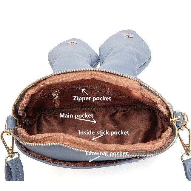 Luxury  Rabbit Ears Crossbody Bag 5