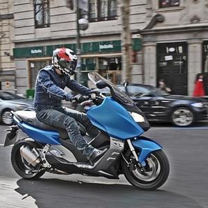 Image 5 - DUHAN motosiklet pantolon erkekler motosiklet kot rahat pantolon erkek motosiklet Motocross Off Road diz koruyucu Moto kot pantolon