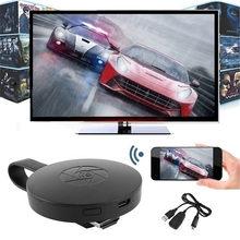 Bezprzewodowy wyświetlacz WiFi Dongle Adapter przenośny telewizor odbiornik 2.4G WiFi 1080P Airplay Dongle Mirroring Screen Miracast Support