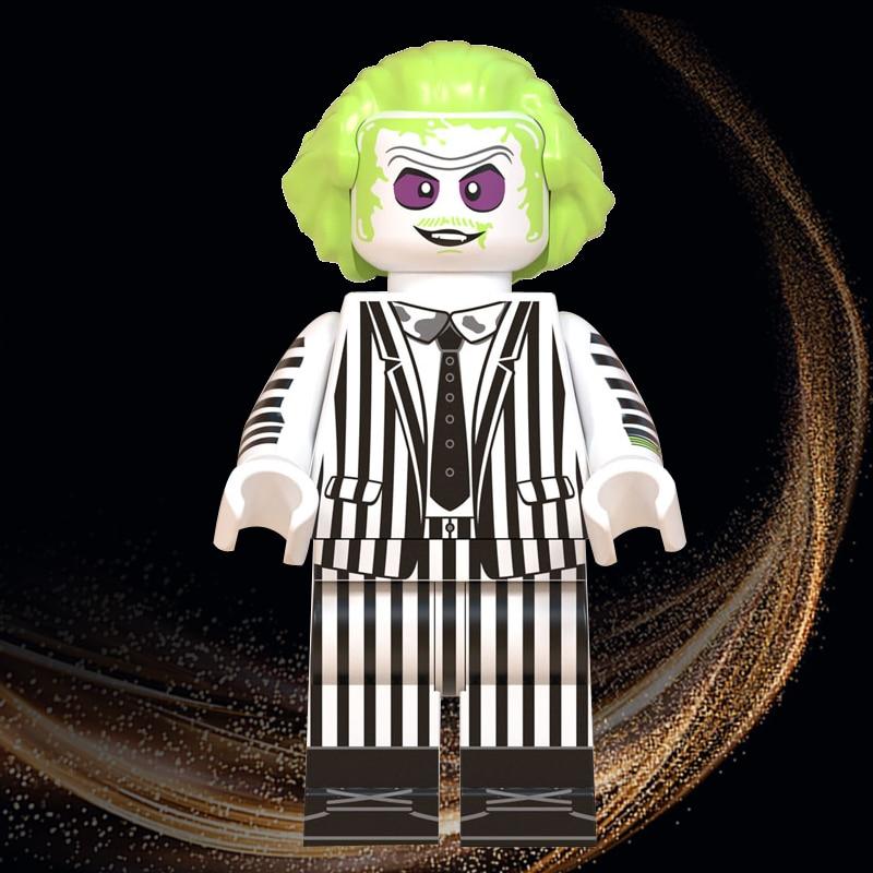 Beetle Juice Horror Halloween Legoed Jack Skellington Michael Myers Minnie Eric Draven Building Blocks Toys Child Gift WM845