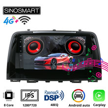 SINOSMART 8 core CPU, DSP Unterstützung Bose Audio Fabrik OEM Kamera/4G LTE Auto Navigation GPS-Player für Mazda 6 gj Atenza 2012-2016