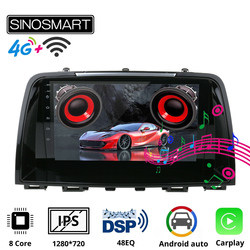 SINOSMART 8coreCPU,DSP Support Bose Audio Factory OEM Camera/4GLTE Car Navigation GPS Player for Mazda 6 gj Atenza 2012-2016