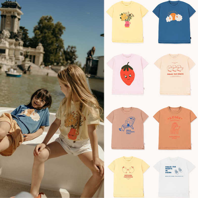 Kids T Shirts 2020 Brand New Spring Summer Boys Girls Cartoon Print Short Sleeve T Shirts Baby Child Cotton Tops Tees Clothes