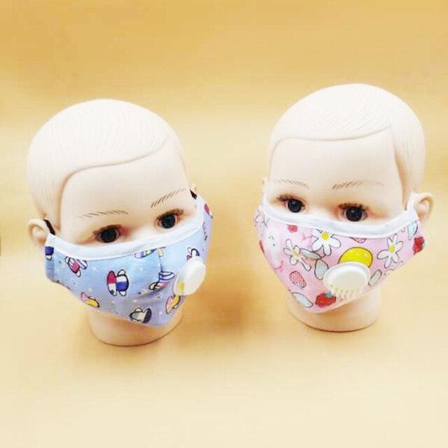 Μάσκα για παιδιά πολλαπλών χρήσεων με βαλβίδα και φίλτρο προστασίας