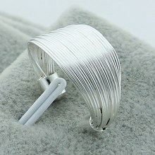 Hot Sell Free Size 925 Silver Women Finger Ring Fashion Jewelry,Multi-Line Ring Free Shipping Wholesale 925 silver nature born killers snake ring men s jewelry free shipping wholesale