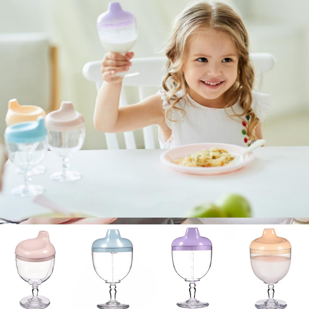 Baby Goblet Water Bottle Infant Cups With Duckbill Mouth Shape For Feeding Baby Trainings Tool For Children Kids Care