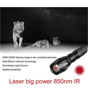 Image 5 - Night Vision Riflescope Hunting Scopes Optics Sight Tactical 850nm Infrared LED IR Waterproof Night Vision Hunting Camera