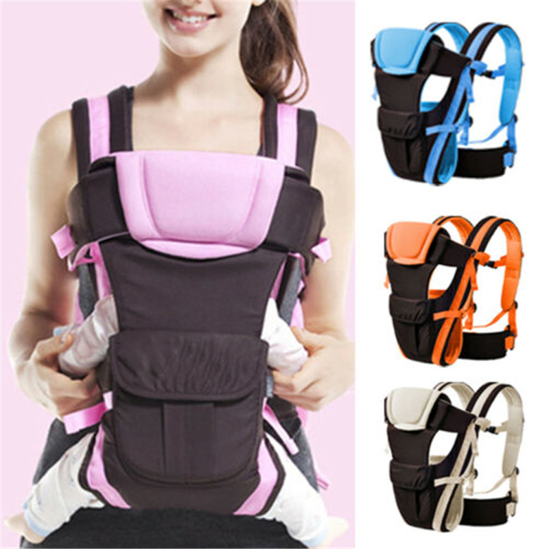2018 Brand New Newborn Infant Toddler Baby Carrier Breathable Ergonomic Adjustable Wrap Sling Backpack Baby Carrier 0-24M New