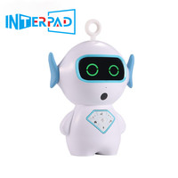 2019 Interpad English Version Smart Robot Intelligent Children Early Education Robots Toy With AI Voice Music Story Wifi Connect