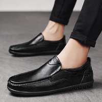 Soft Men Shoes Comfortable Casual Daily Shoes for Men Slip on Loafers Men Moccasins Driving Shoes Business Footwear Luxury 1