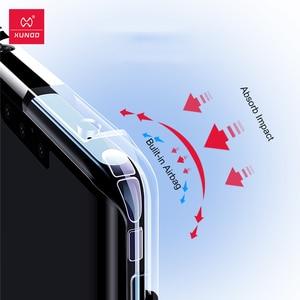 Image 2 - XUNDD Caso Antiurto Per Huawei Mate30 Pro Custodia Protettiva Airbag Della Copertura Del Respingente Borsette Lente In Vetro Pellicola Per Huawei Compagno di 30 Pro caso