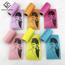 3Pcs set Self Adhesive Thermal Sticker Printing Paper Paste Bill Receipt Colorful Durable for Paperang printer
