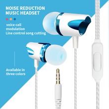 Bass Stereo Earbuds Wired Headphones Sports Earphone Music Headsets Gaming Headset For Samsung Iphone For Xiaomi Huawei Earphone