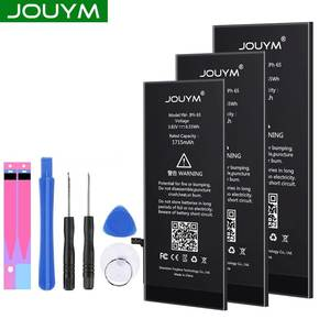 JOUYM Cell Phone Battery for iPhone 6S 6 7 8 Plus 5S 5 SE 6plus Replacement Bateria for iPhone6 iPhone7 iphone5s + Free Tools