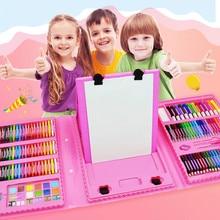 86/168 шт цветной карандаш набор художника кисть для рисования набор инструментов детский сад принадлежности карандаш для рисования маркер