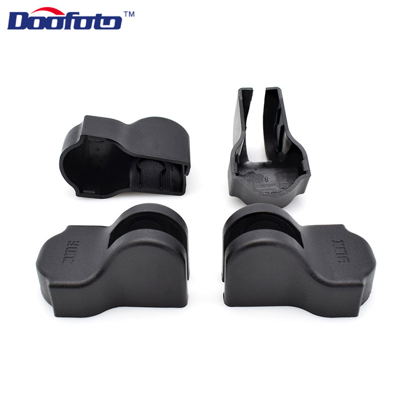 Doofoto 4x Car Door Limiting Stopper Cover For Nissan Qashqai J10 J11 X Trail T32 T31 Tiida Juke Note Kicks Leaf Accessories
