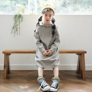 Image 3 - 2020ใหม่เด็กเสื้อกันหนาวเด็กเจ้าหญิงชุดสาวชุดฤดูใบไม้ร่วงชุดเด็กกระต่ายผมCore Spunเส้นด้ายเด็กวัยหัดเดินเสื้อกันหนาว,#3469