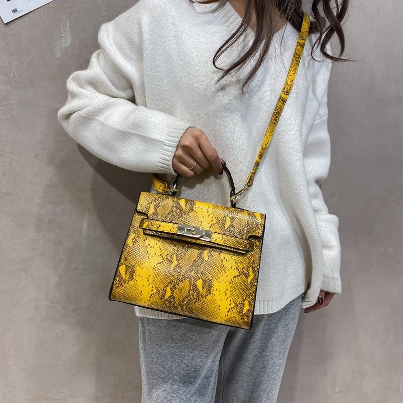 Women's Shoulder Bag Snake Diagonal Crossbody Women's Bag 2020 Fashion Handbag