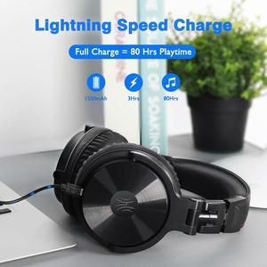 Image 4 - Oneodio Bluetooth V5.0 наушники DJ беспроводные/проводные наушники беспроводные стерео беспроводные + Проводная гарнитура для телефонов ПК новинка