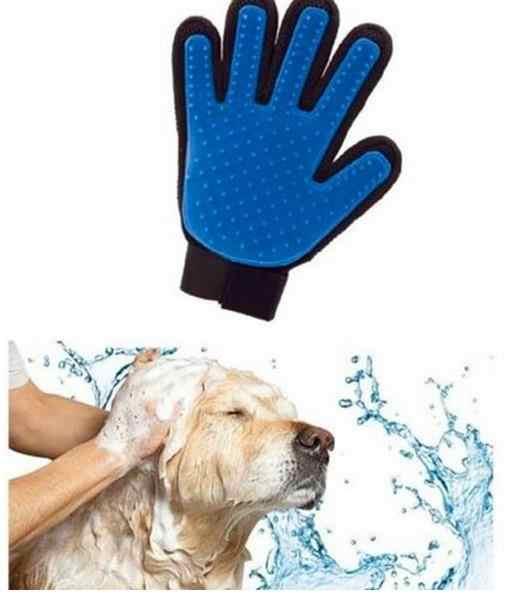 ซิลิโคนสุนัขสัตว์เลี้ยงแปรงถุงมือ Deshedding Gentle อย่างมีประสิทธิภาพ Pet Grooming ถุงมืออาบน้ำสุนัขแมวทำความสะอาดอุปกรณ์ถุงมือสัตว์เลี้ยงสุนัข combs