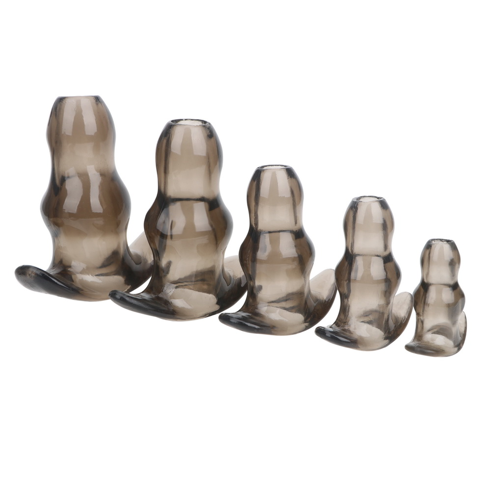 3 Sizes Hollow Anal Plug Soft Speculum Prostate Massager Butt Plug Enema Sex Toys For Woman Men Anal Dilator Sex Products