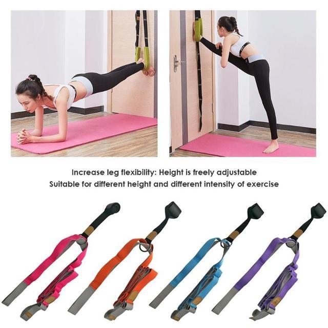 Porta Dividir Flexibilidade Ballet Yoga Cintos Multi-função de Segurança Durável Banda Exercício de Volta Curva Perna Maca Cinto Venda Quente