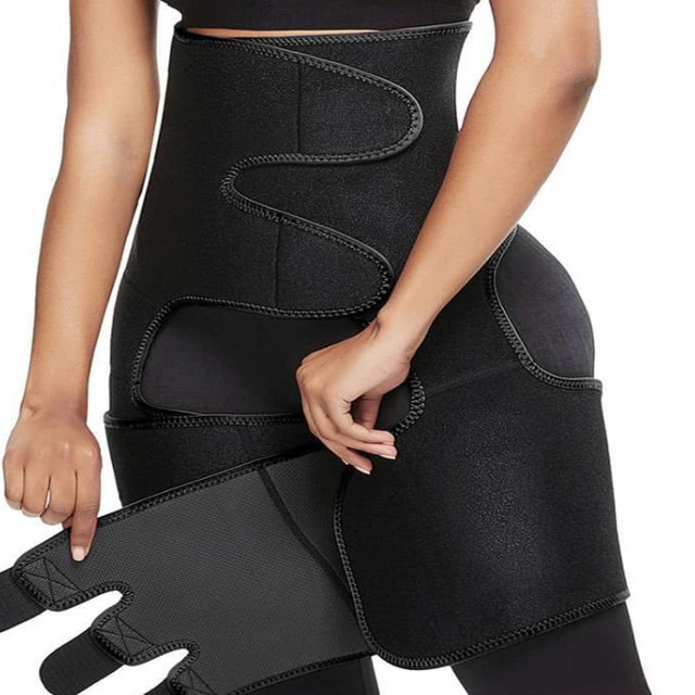 Women Hot Sweat Waist,Sport Girdle Belt Booty Hip Enhancer Lift Butt Lifter Shaper Waist Trainer Thigh Trimmers For Women 3