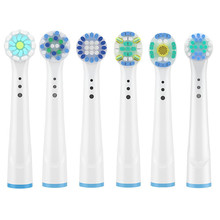 3D Whitening Electric Toothbrush Replacement Brush Heads For Braun Oral B FlossAction/Sensitive /Precision Clean Toothbrush Head