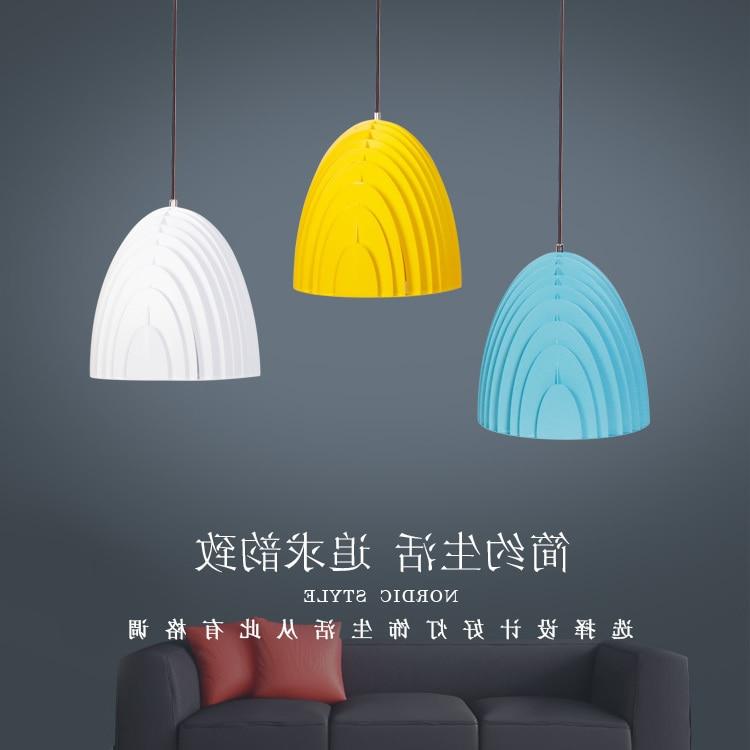 Modern Nordic Ambit Pendant Lights Denmark Colored Macaron Aluminum Led Pendant Lamp Kitchen Restaurant Light Ceiling Fixtures|Pendant Lights| |  - title=