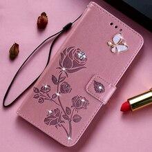 Кожаный чехол-книжка с бабочками для Nokia 2 2,1 2,2 2,3 1 Plus 3 3,1 3.1C 3.1A 3,2 7 7,1 7,2 X7 X71 3310, чехол-бумажник