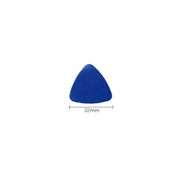 FIXFANS 50 pièces mince mince en plastique guitare choix Triangle ouvreur téléphone Mobile réparation outils pour iPhone iPad MacBook Pry outil douverture