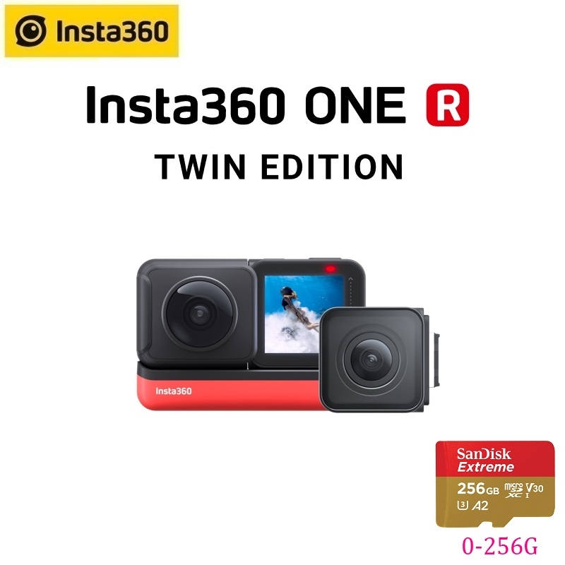 Insta360 ONE R Insta 360 4K 5.7K Action Camera Twin Edition 1