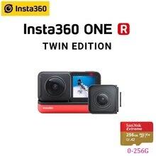 Insta360 كاميرا أكشن ، إصدار مزدوج ، ONE R Insta 360 4K 5.7K