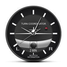 Horloge murale classique d'aviation silencieuse et sans tic-tac, Style Cockpit, horloge faciale, Instrument d'avion, montre, cadeau pour pilotes