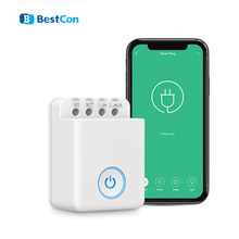 Broadlink Bestcon MCB1 Home Automation Module Smart Switch WiFi APP 2,4 GHz Control Box Timing Drahtlose Fernbedienung 2500W