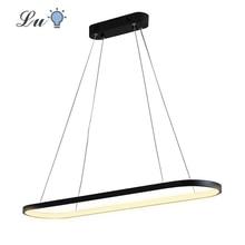 LED Aluminum Black/White Pendant Lights Indoor Lighting Pendant Lamps Restaurant Living Room Bedroom Kitchen Decor Hanging Lamp