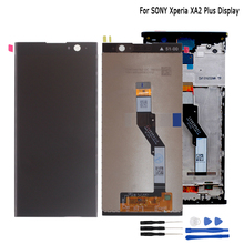 цена на For SONY Xperia XA2 Plus LCD Display Touch Screen Digitizer Assembly Replacement Parts For SONY XA2Plus Display Screen LCD