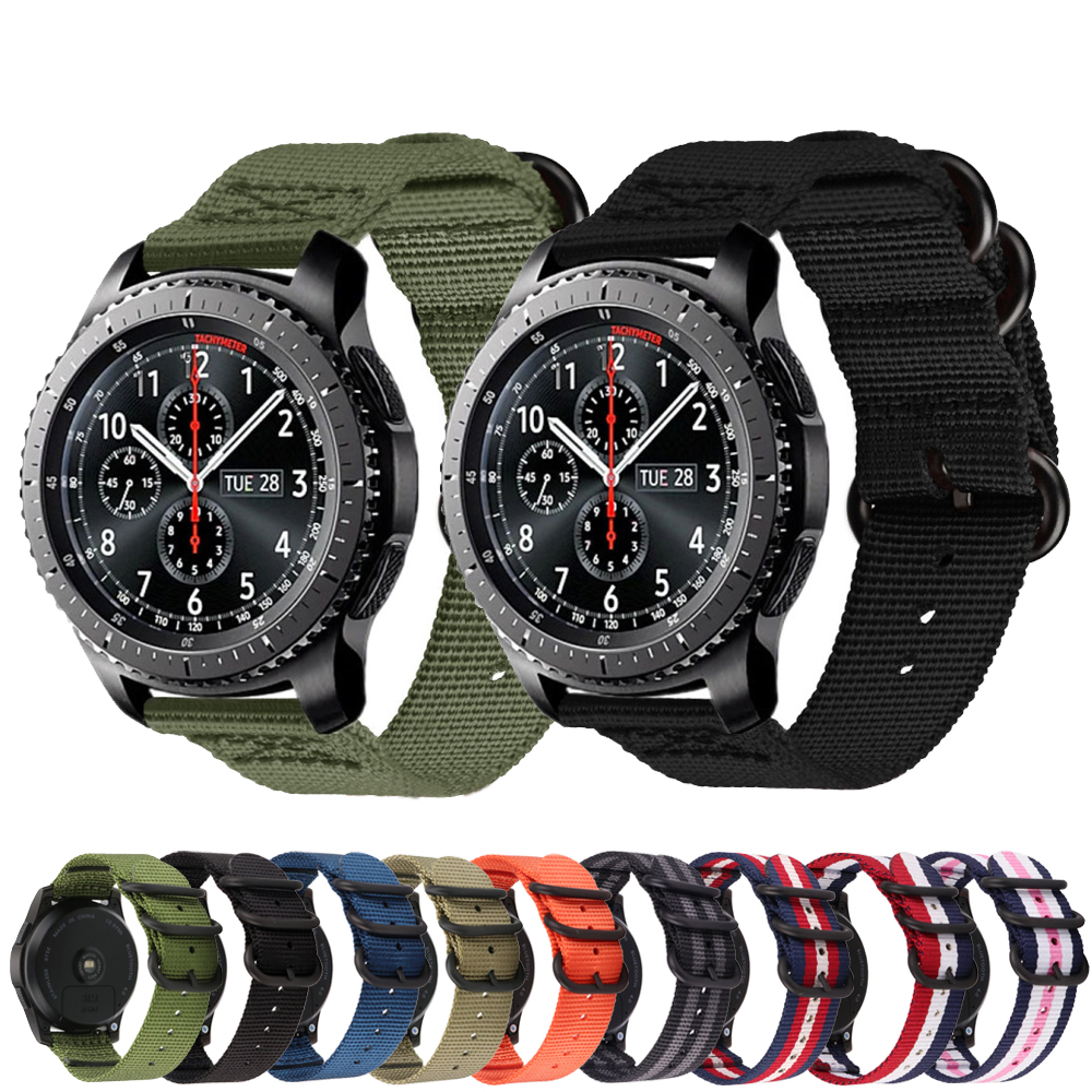 Galaxy Watch 46mm Strap For Samsung Gear S3 Frontier Active 2 Amazfit Bip Huawei Watch Gt2 Strap 22mm Watch Band Smart Watchband