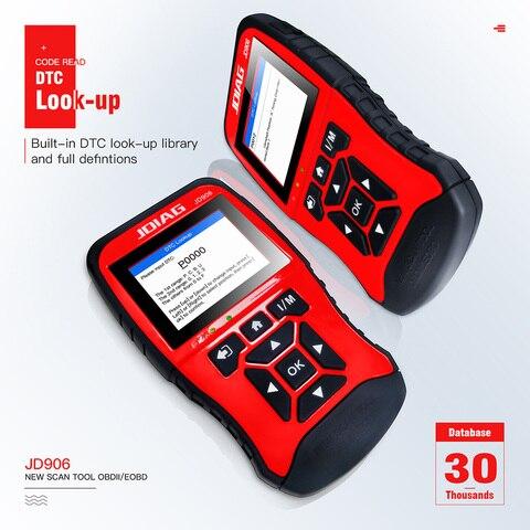 JDiag JD906 professional obd2 OBDII automotive scanner Car Diagnostic Tool Full System Upgraded Code Reader OBD2 Scanner JD906 Pakistan