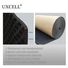 Uxcell tapete automotivo, proteção contra ruído, para isolamento, de 50*100/200/300/500cm espuma de som do algodão