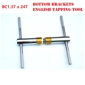 MTB Bicycle Bottom Brackets English Tapping Tool BC 1.37 * 24 BB68 BB73 Bottom Brackets Axis Milling Cutter Tapping Tools