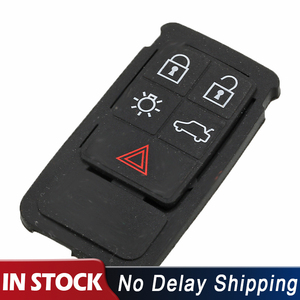 5 Buttons Remote Key Pad Rubber Mat FOB Keys Silicone Case For Volvo S60 S80 XC70 XC90 Replacement Parts(China)